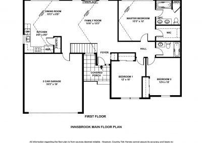 Innsbrook House MAIN FLOOR BW