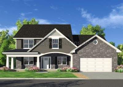 New Home St Louis Sawgrass New Rendering