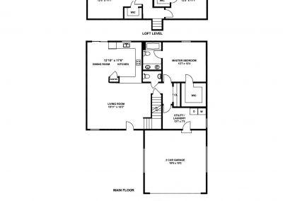 New Homes St Louis Merion B Floorplan