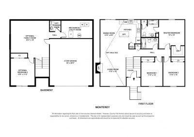 New Homes St Louis Monterey Fin Basmt B