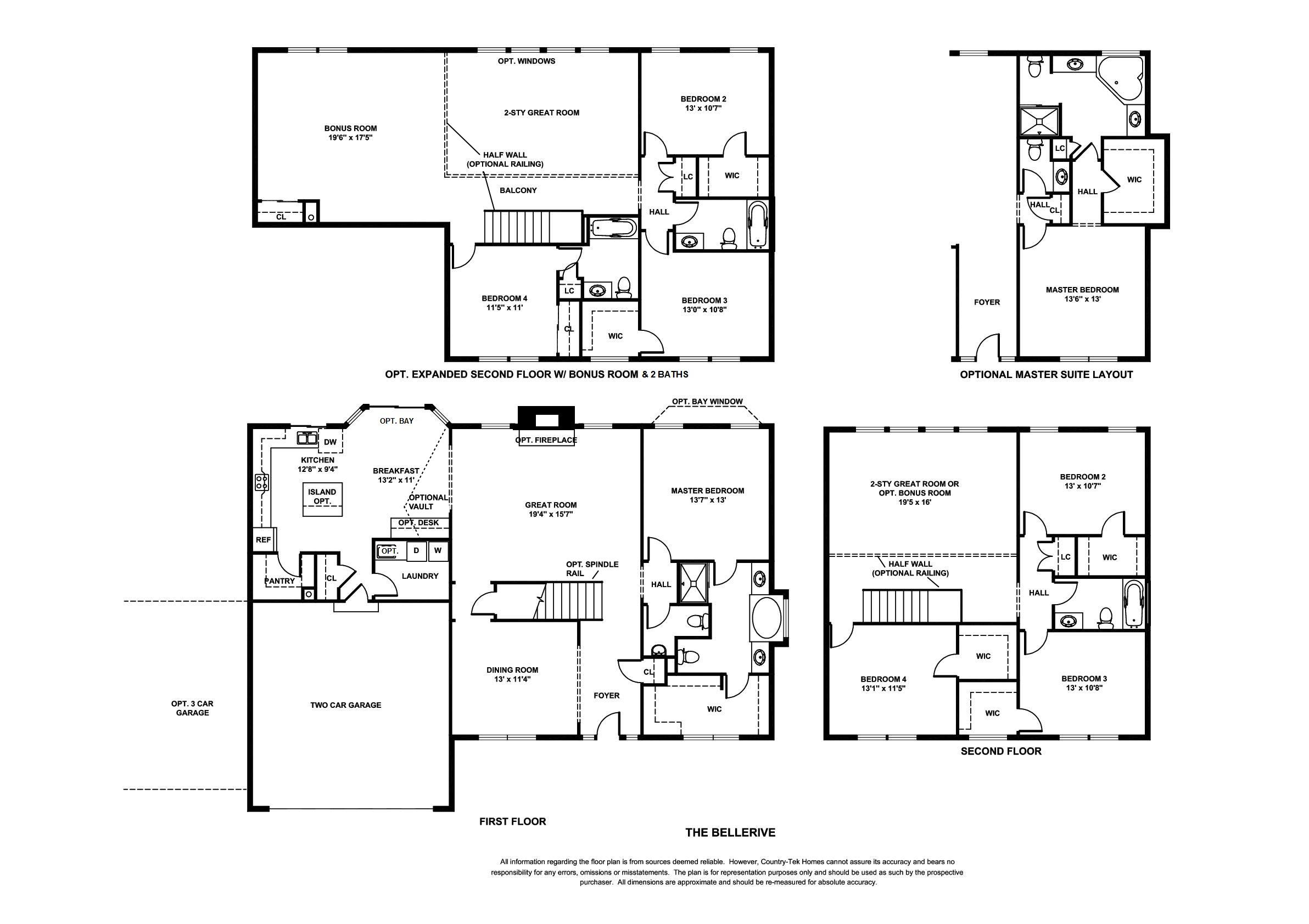 Floor Plans Country Tek Homes
